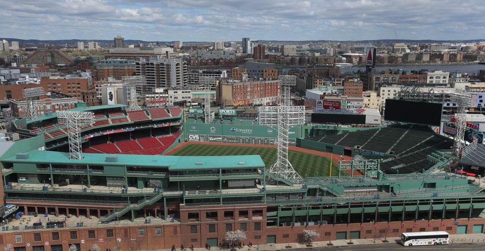 The development, located at 1282 Boylston St., offers views of Fenway Park. The site used to be a parking lot and a McDonald's.