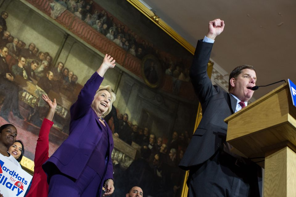 Hillary Clinton and Boston Mayor Martin J. Walsh both said they would return thousands of dollars in donations from Thornton Law Firm.