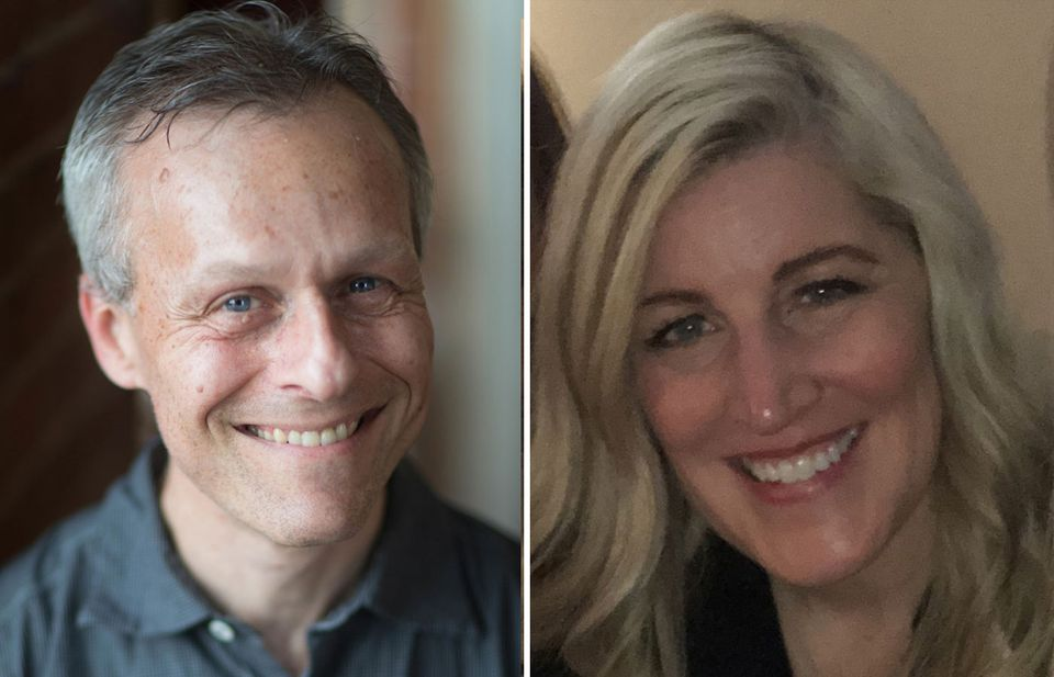 Lewis Rice and Debbie Weiss.
