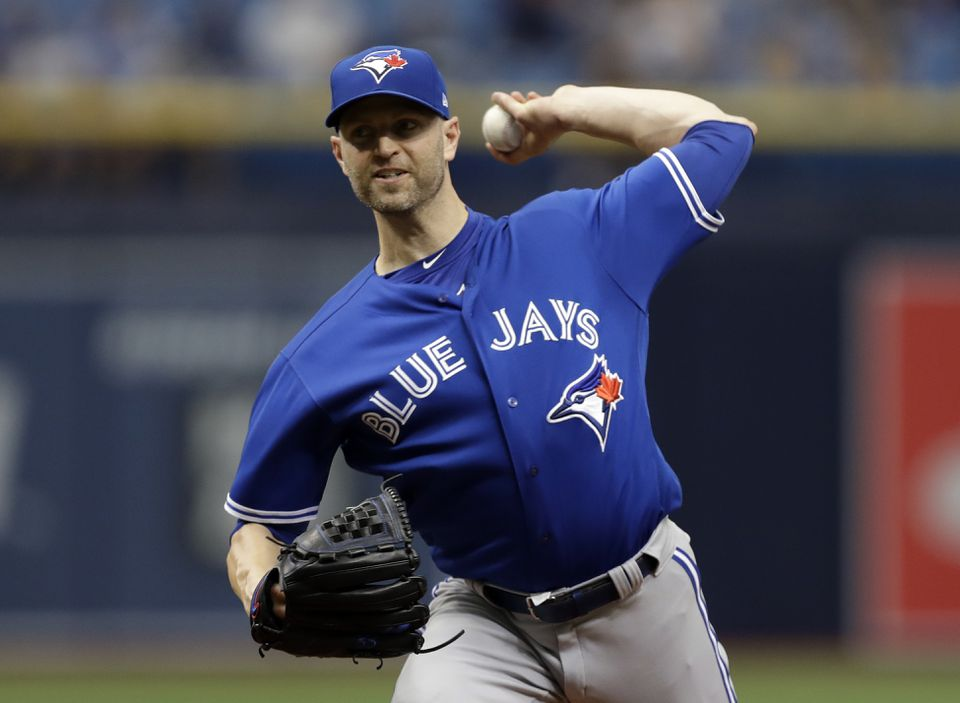 d6be01b95f6 Yankees bolster rotation by acquiring J.A. Happ from Toronto - The ...