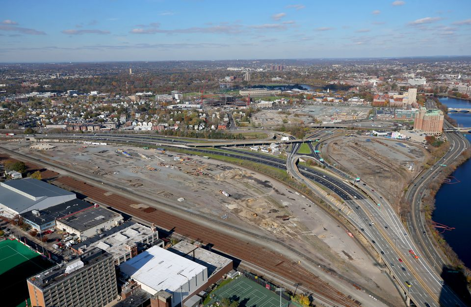 The Massachusetts Department of Transportation and Harvard plan a major redevelopment project in Allston but when and in what form it will be completed are uncertain.
