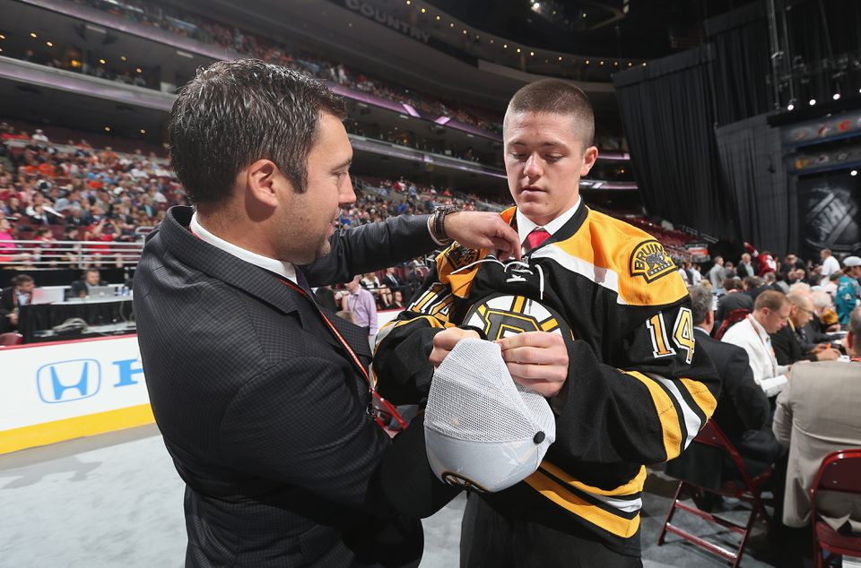 Ryan Donato (right) is a product of the Dexter School in Brookline.
