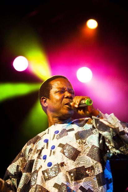 Nigerian superstar King Sunny Adé returns with his big band