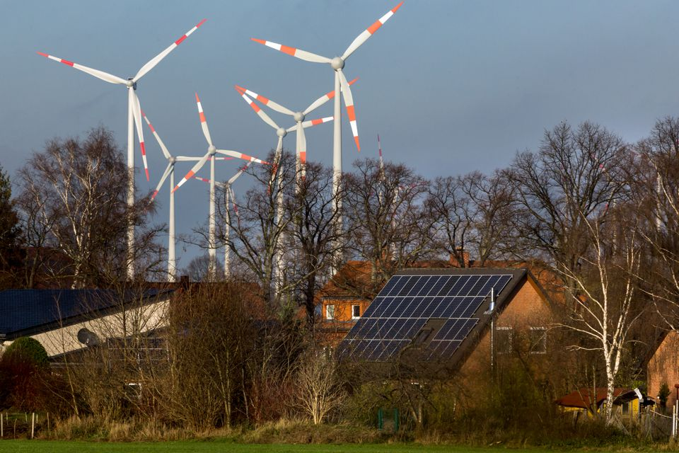 What if the energy from a sunny, windy day could be stored in a massive battery and used at night when the wind dies down?