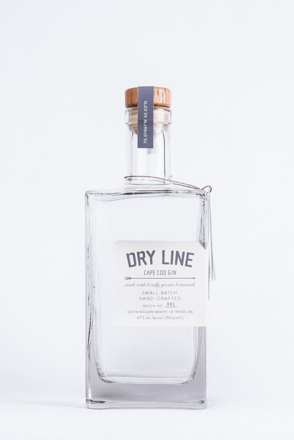 """""""Dry Line"""" gin"""