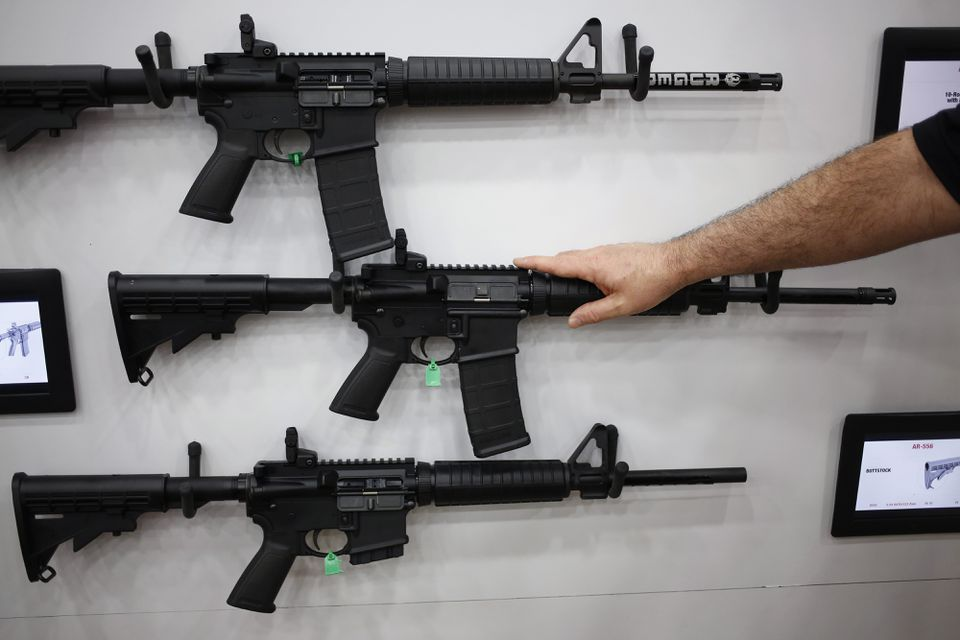 Gun-control advocates say the suspect in Florida, Nikolas Cruz, could not, in Connecticut, have bought the AR-15-style semiautomatic rifle believed to have been used in the attack.