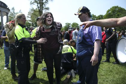 7 arrested at anti-abortion rally on Boston Common - The Boston Globe