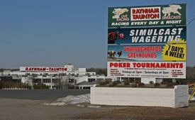 Raynham Park lost live dog racing in 2009 after a state referendum banned the activity. It retains simulcast betting.