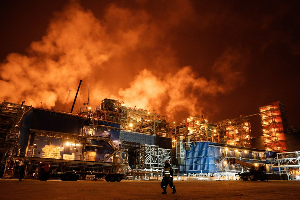 Some of the liquefied natural gas bound for Boston was probably produced by the Yamal LNG gas plant on the Arctic Circle in Russia.