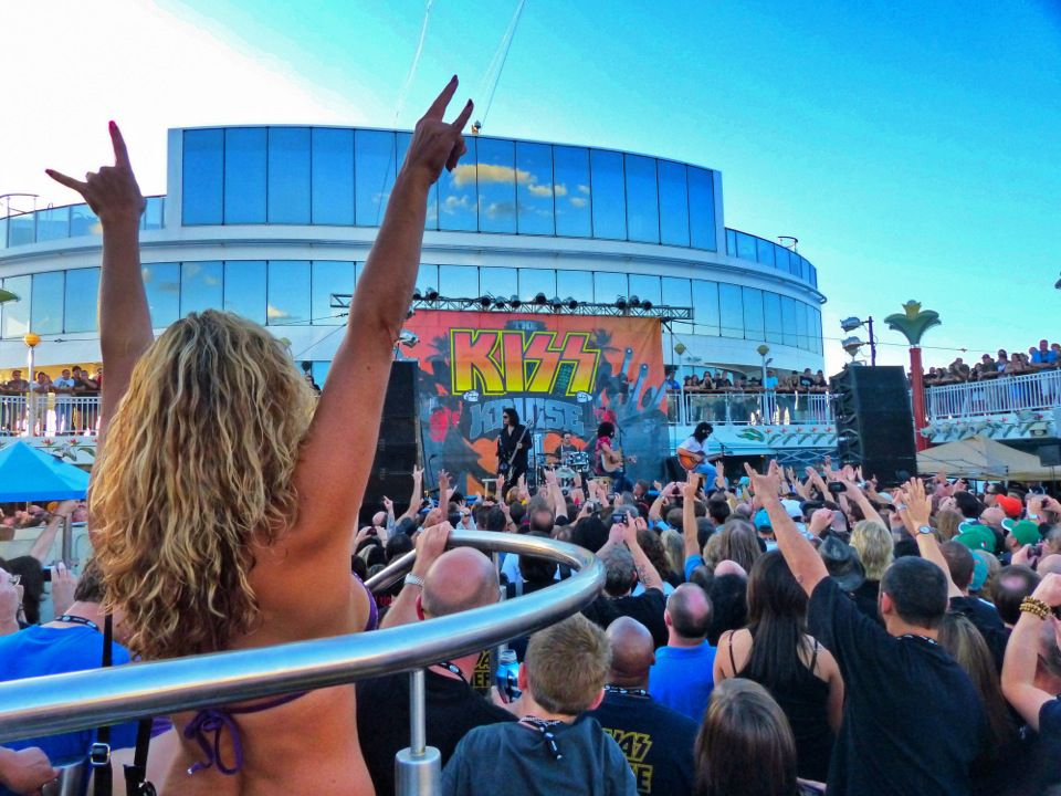 Norwegian Cruise Line's four-day KISS cruise is a double bill with Cheap Trick, a fab two-fee for rock fans.