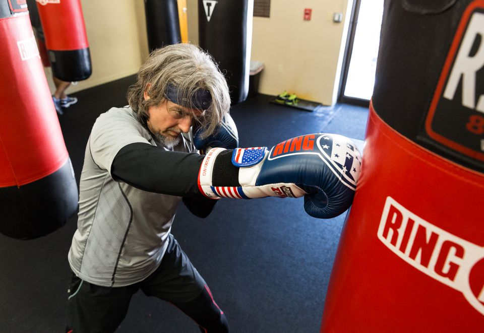 John Quackenbush, 53 years old, 160 pounds, and a whiz in biostatistics and computational biology, is about to become a boxer.