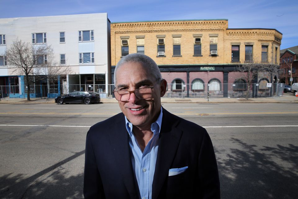 Developer Robert Korff has lived in Newton since 1995 and considers it his hometown.
