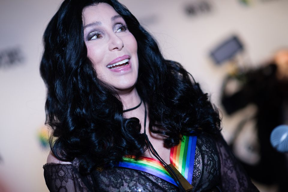 Cher attended the 41st Annual Kennedy Center Honors in Washington in December.