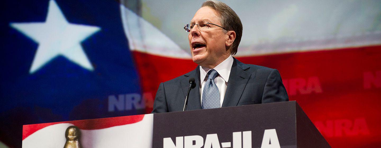 NRA executive vice president and CEO Wayne LaPierre.