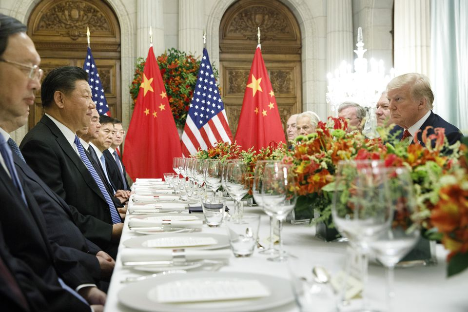 President Trump and President Xi Jinping of China participate in a bilateral meeting during the G20 Summit in Buenos Aires in December.