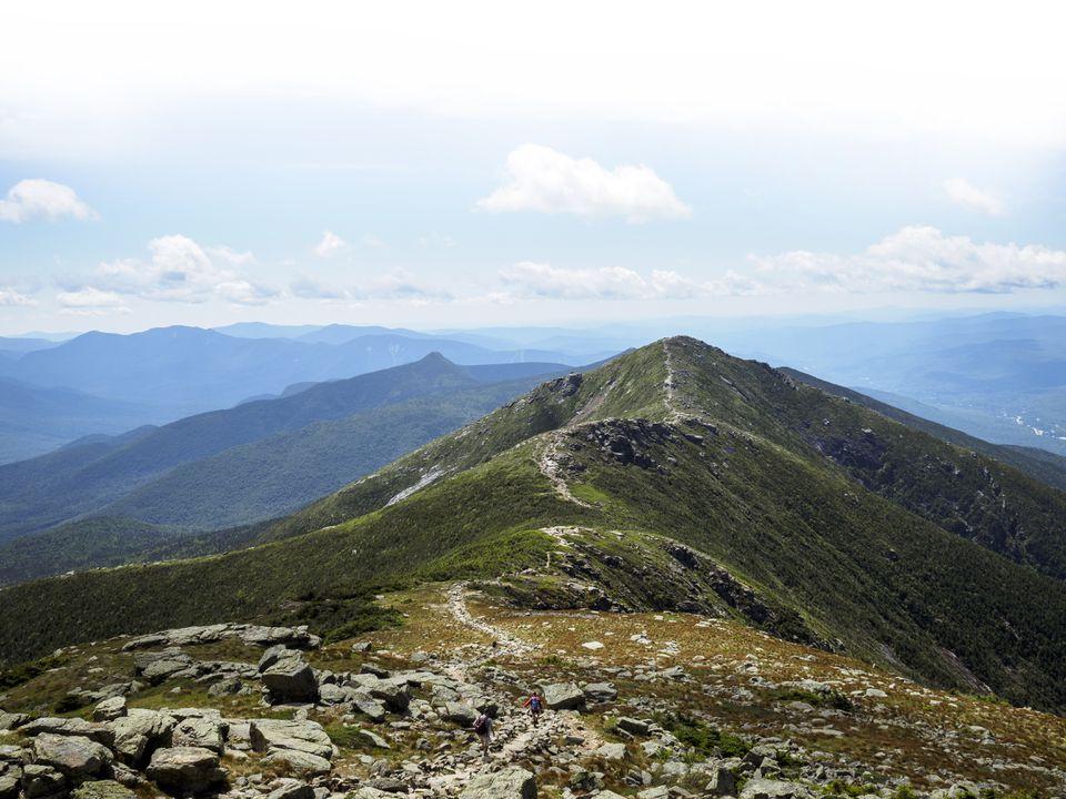 Franconia Ridge in New Hampshire's White Mountains.