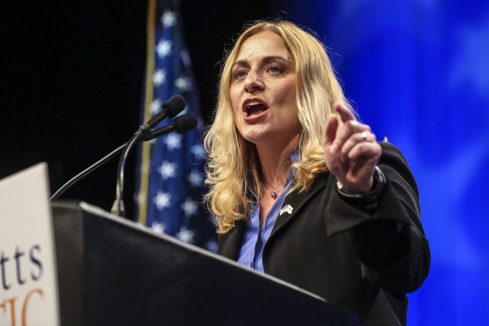 Marisa DeFranco received support from less than 5 percent of the  delegates to the Democratic state convention on Saturday.