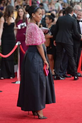Kerry Washington at the Screen Actors Guild Awards in January.