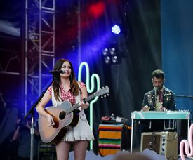 Kacey Musgraves (pictured at the 2015 Outside the Box festival in Boston) plays the Boch Center Wang Theatre Jan. 19.