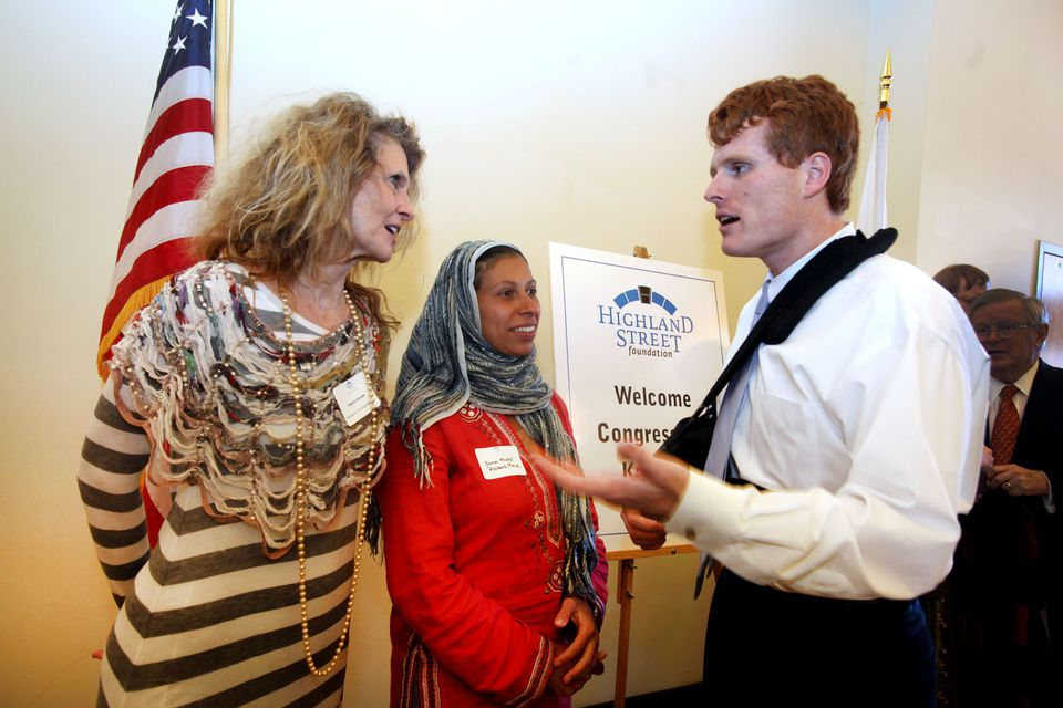 From left: Regina Snowden, Sana Fadel, and Joe Kennedy.