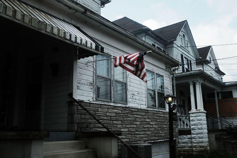 A home in Clarksburg, W. Va., on Aug. 22, 2018.