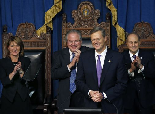Charlie Baker's bipartisan formula for success - The ...