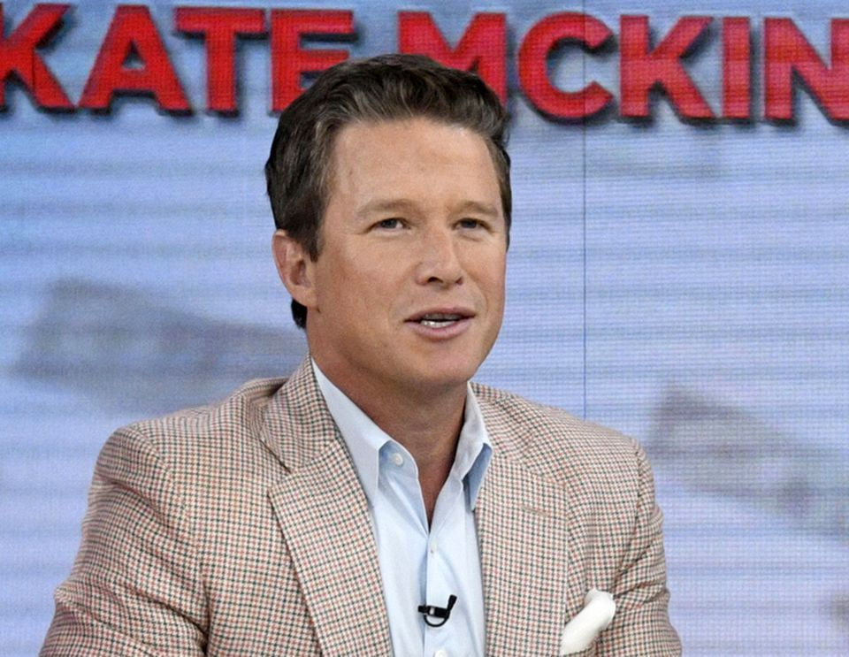 """In an op-ed Sunday for the New York Times, Billy Bush said he was disturbed by reports from the past week that President Trump has told allies and at least one senator that he may not be the voice on the infamous 2005 """"Access Hollywood"""" tape."""