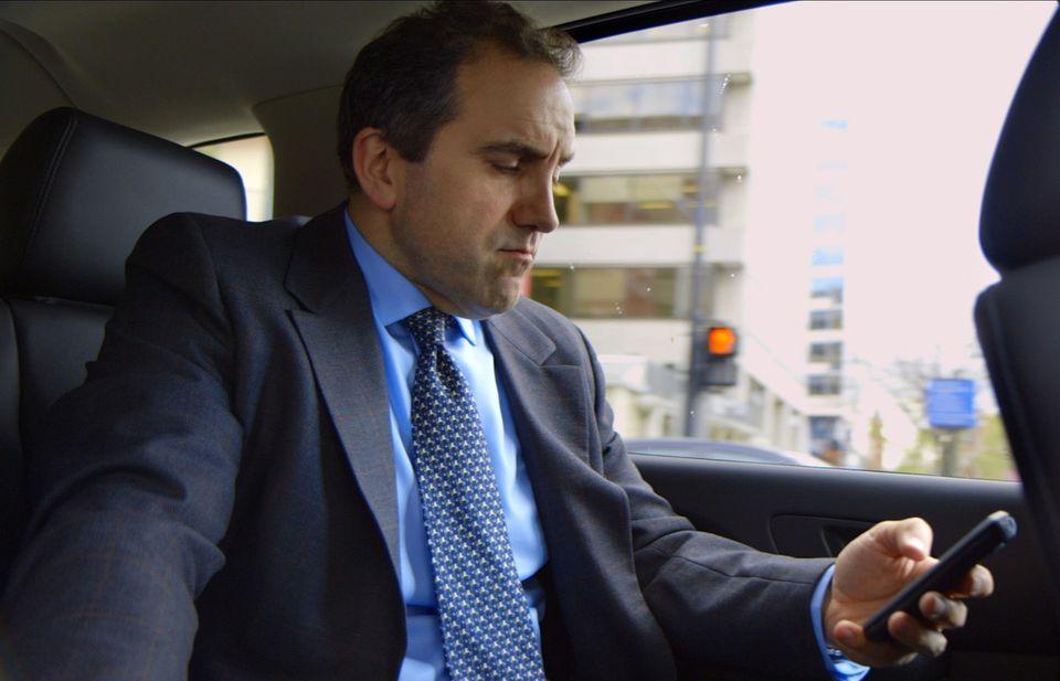 """Marc Morano in """"Merchants of Doubt."""""""