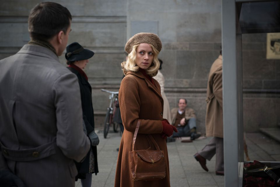 """Alice Dwyer portrays Hanni Lévy, whose story of avoiding Nazi capture is one of four told in """"The Invisibles."""""""