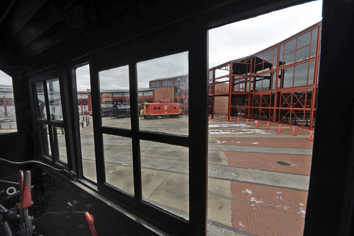 The Steamtown National Historic Site in downtown Scranton, Pa. is closed.