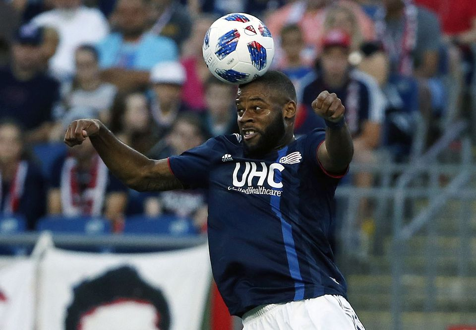 Andrew Farrell got the Revolution on the board with an early second-half goal Saturday night in Foxborough.
