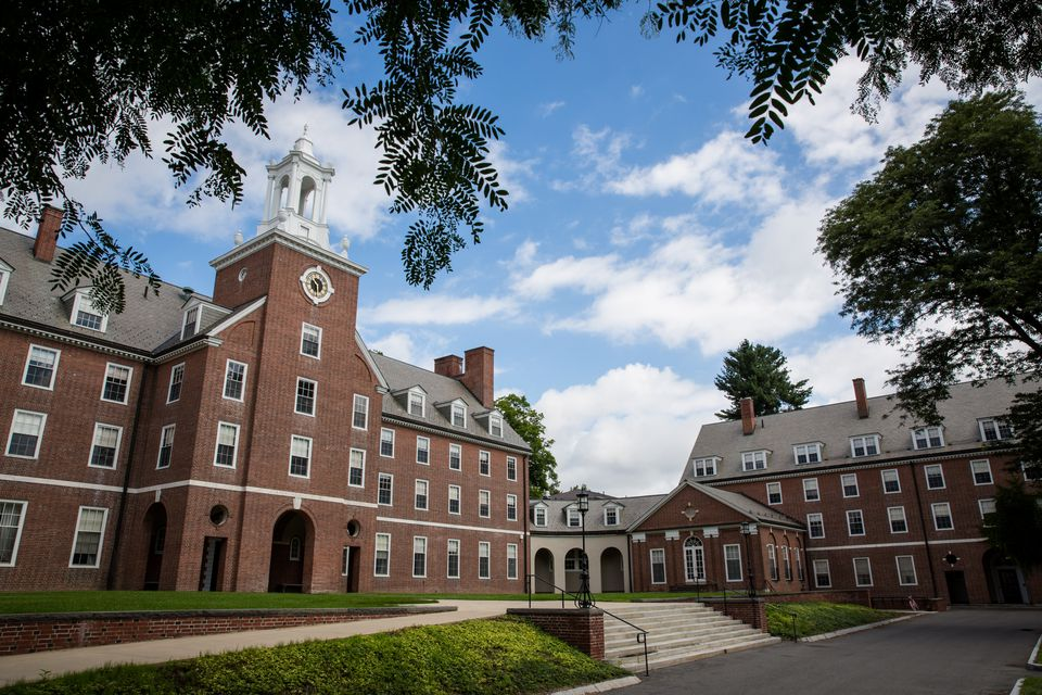 The Smith College campus in Northampton.