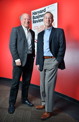 Editor-in-chief Adi Ignatius and Harvard Business Review Group publisher Josh Macht have had success with their digital strategy.