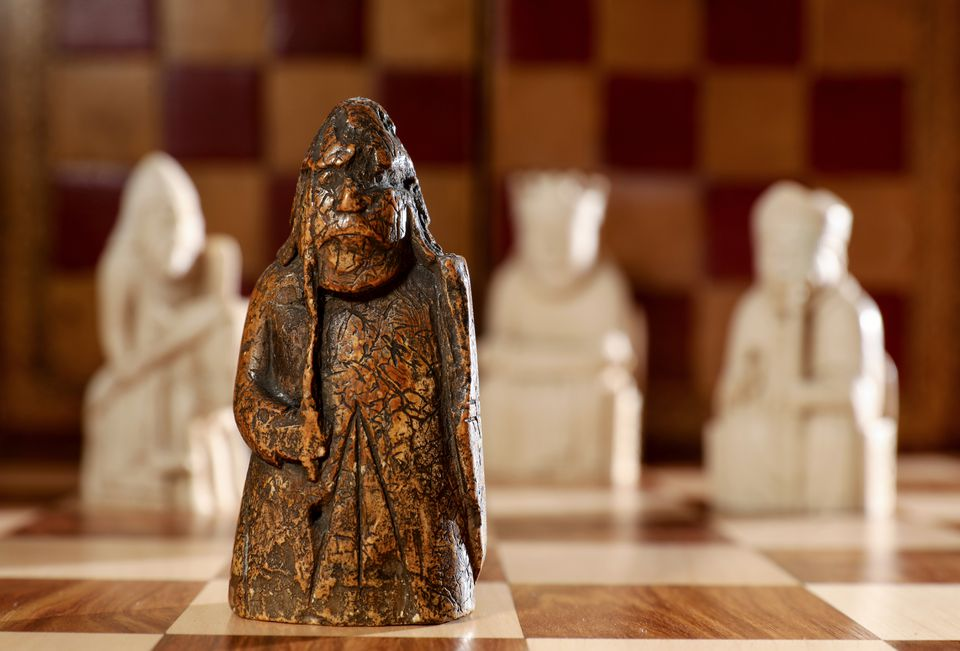 Lewis Chessmen piece, long-lost Viking relic, rediscovered in Scottish family's drawer