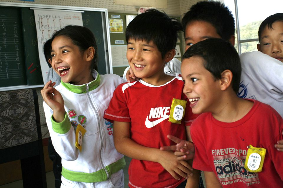 """About half of the students at West Homi Elementary School in Toyota City, Japan, are Japanese-Brazilians, or """"Nikkei."""""""
