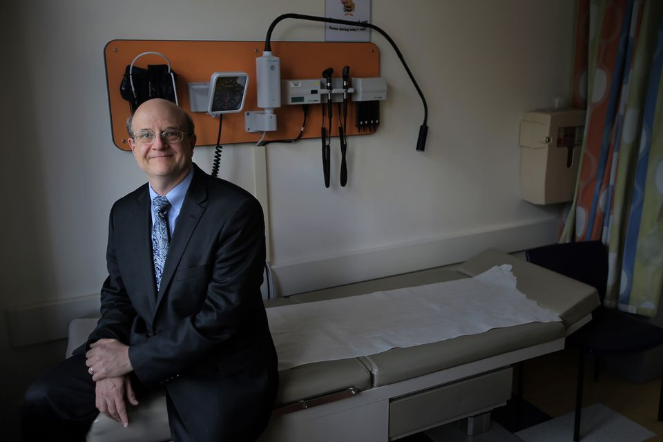 Dr. Samuel Nurko, director of the Center for Motility and Functional Gastrointestinal Disorders at Boston Children's Hospital. A new movie is centered around one of his patients.