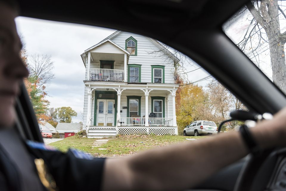 One of four houses in Northwest Rutland that has a civil forfeiture lawsuit filed against it.