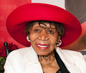 Ms. Powell was honored at the Motown Historical Museum on Aug. 26.