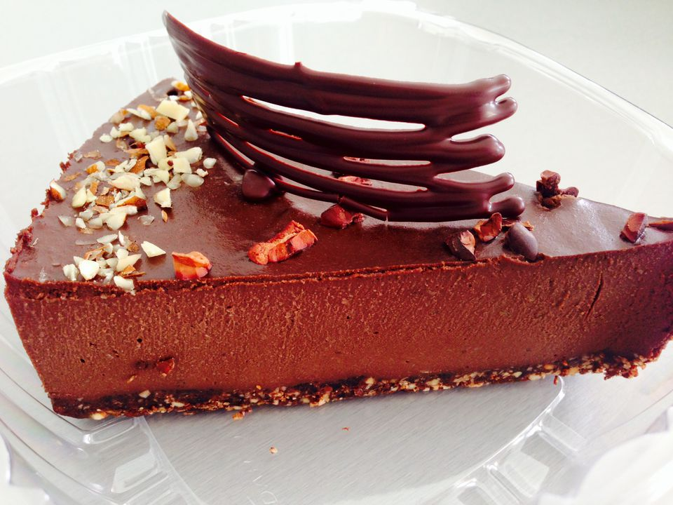 Chequessett Chocolate and Cafe's chocolate cake.