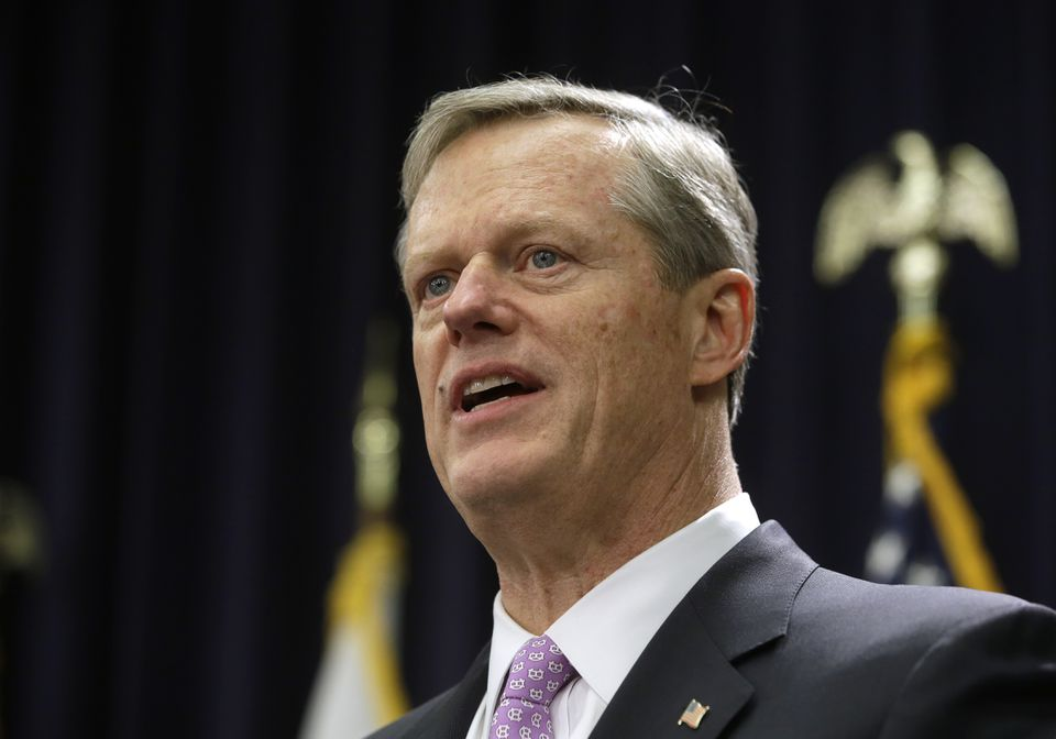 Governor Charlie Baker said Thursday his administration is looking for ways the state's unemployment insurance system could be tapped to help workers.