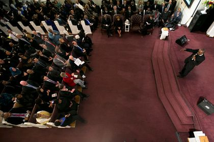 Long a pillar, church appeals for its own support - The