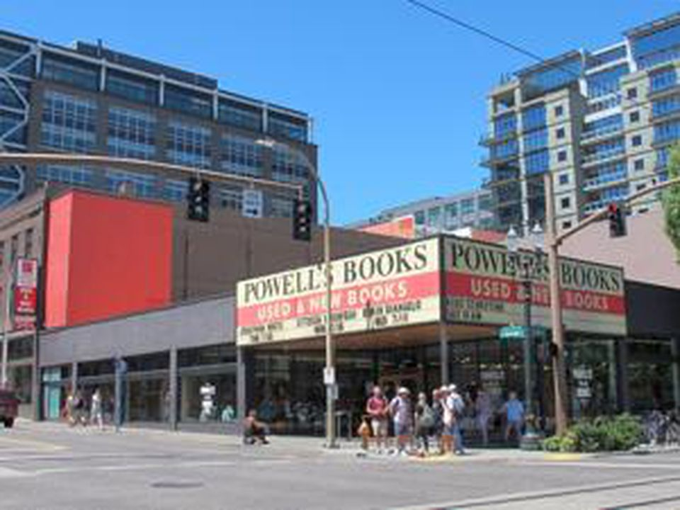 Powell's City of Books occupies a full city block in downtown Portland.