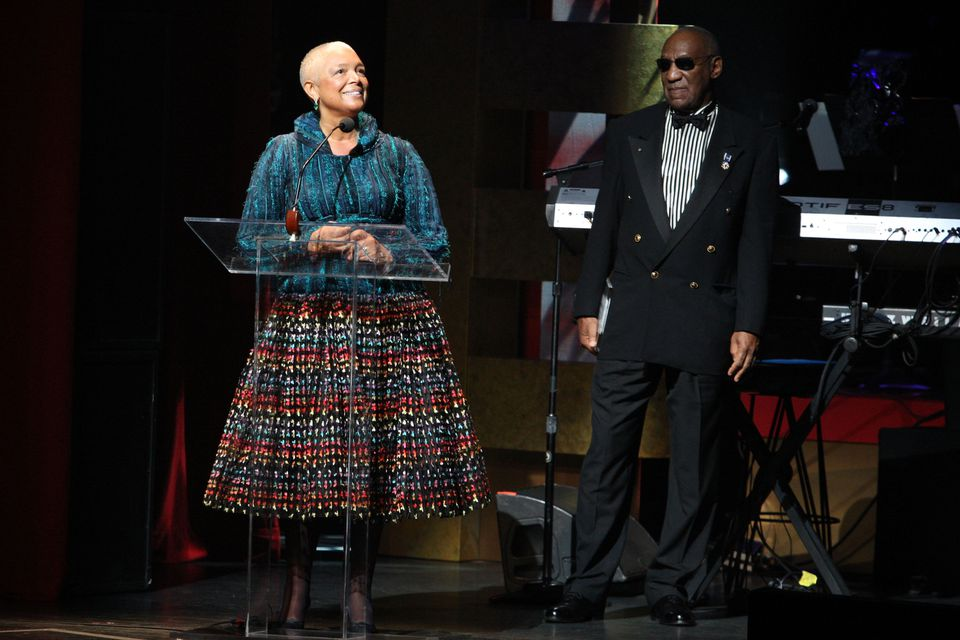 Bill Cosby and his wife, Camille, spoke in 2009 during the Apollo Theater's 75th anniversary gala.