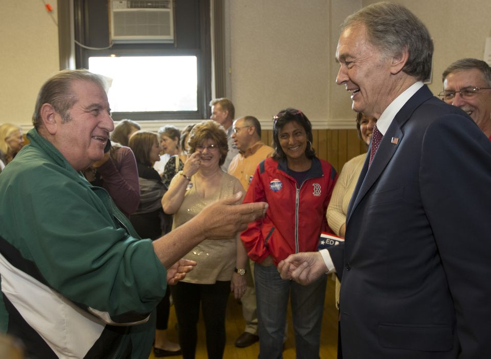 Much of Edward Markey's support may come more from the fact that he is a Democrat than from personal affinity.