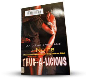 """A Boston library patron asked that """"Thug-A-Licious"""" be moved to the adult section."""
