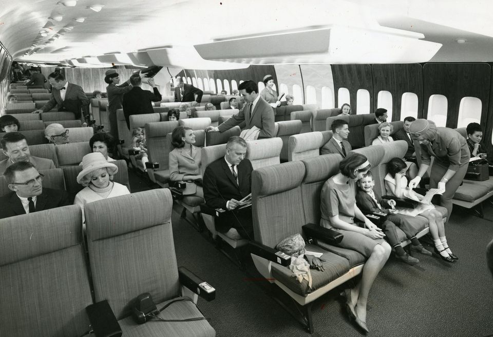 During the golden age of commercial air travel, in the 1960s and 1970s, flying was akin to being at a cocktail party on wings when everyone dressed for the occasion.