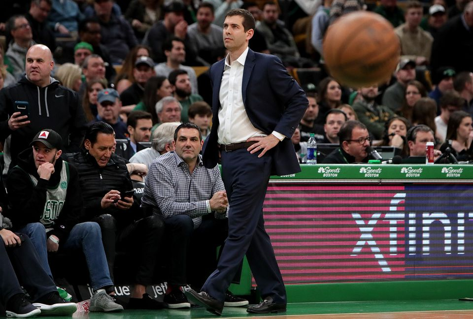Celtics coach Brad Stevens was dumbfounded by his team's miserable performance against the Clippers in the second half Saturday night.