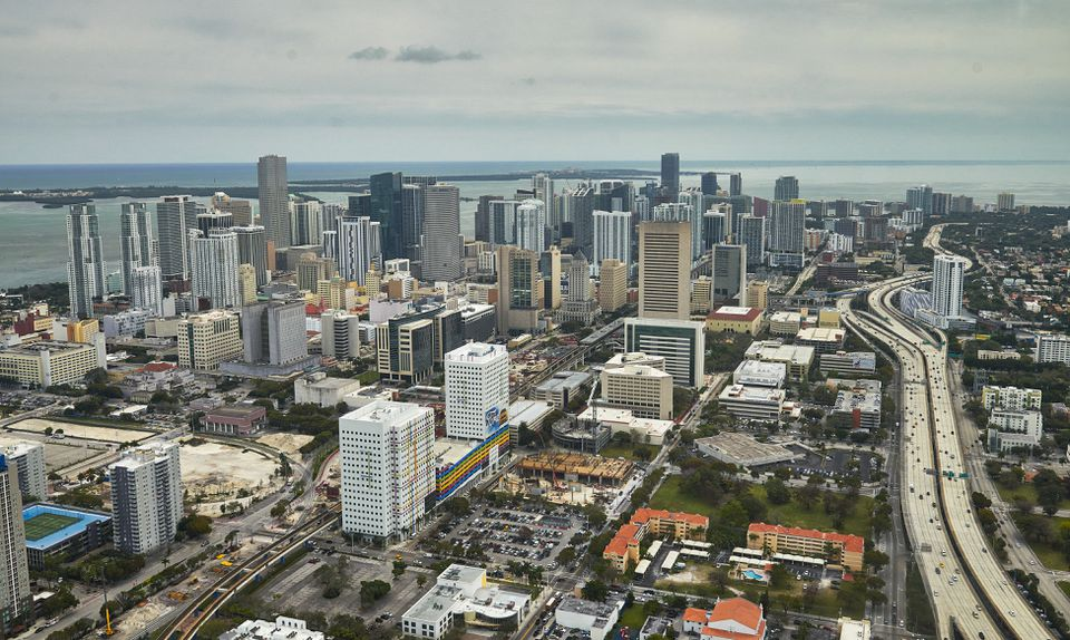 Downtown Miami and other markets could get hit by the falling prices.