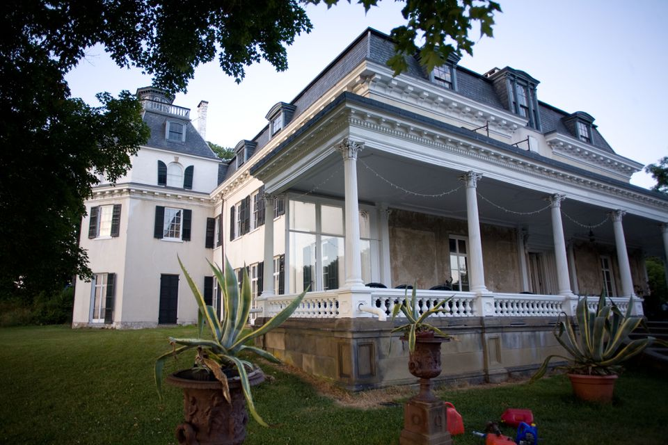 Rokeby, a riverfront mansion in New York's Hudson River Valley, is the setting for Alexandra Aldrich's memoir.