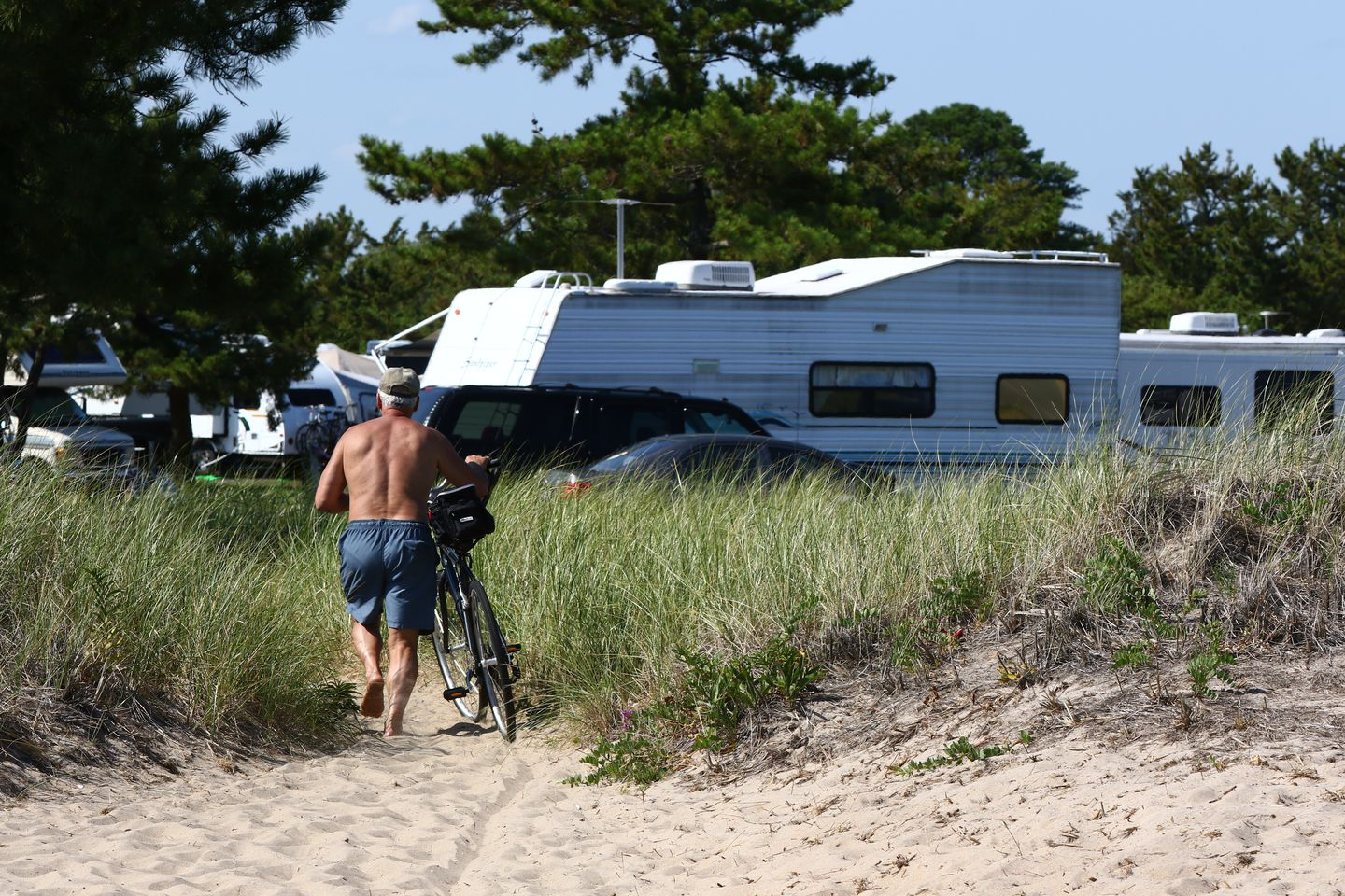 Salisbury Beach State Reservation has 484 camping spots with easy access to the water.